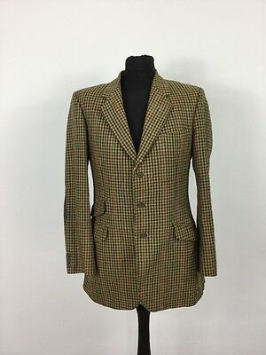 Vintage John G Hardy Tweed Shooting All Wool Smart Blazer