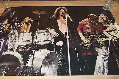 ALICE COOPER 1971 STAGE POSTER RARE Original Classic line up with Buxton 24 x 37