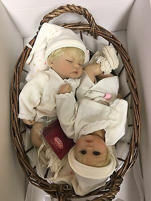 RARE!! LIMITED Sammler Edition GOTZ Twin Doll Numbered Collectors New in box
