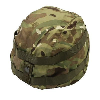 Army Issue MK7 Helmet Cover MTP Multicam GS Combat Helmet Cover With Scrim ~ New