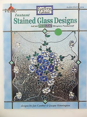 Instant Stained Glass Designs Book using RediLead Gallery Glass Plaid