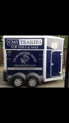 ifor williams horse trailer hire