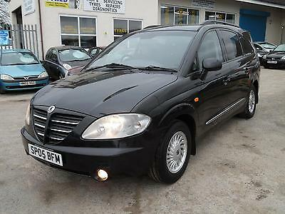 2005 Ssangyong Rodius 270 Sx, 2.7 Turbo Diesel Auto, 7 Seat Mpv In Black