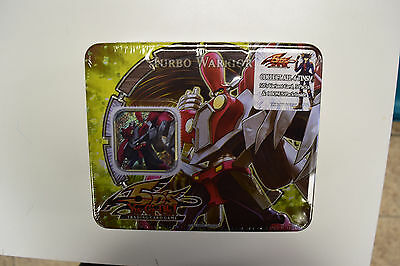 Yu-Gi-Oh! Yugioh 2008 Turbo Warrior Factory Sealed Collectible Tin