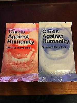 Cards Against Humanity Vote For Hillary Pack Vote For Trump Pack