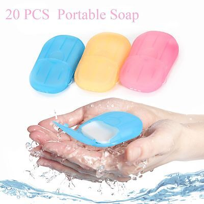Soap Travel Portable Soap Flakes Rich Foam Cleaning Equipment Soap Papers