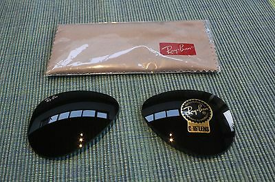 New RayBan Replacement G-15 Lenses for RB3025 Aviator, 55 eye