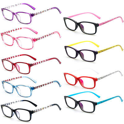 Cartoon Fashion Optical Kids Children Multi-Color Girls Glasses Boys
