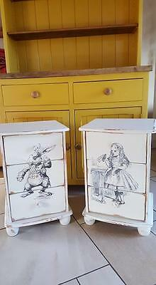 Alice in wonderland pine drawers...unique...uk delivery available