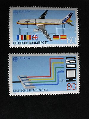 """Allemagne - Europa 1988 """"Les Transports"""" - Y.T.1199/1200 - neuf **  Mint MNH"""