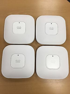Cisco X4 Air-Lap1142N-E-K9 Job Lot Bundle Aironet 1140 Wireless Access Points