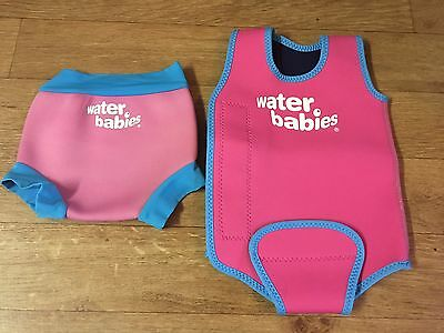 Water Babies Happy Nappy Large + Baby Wrap Large 6-14 Months