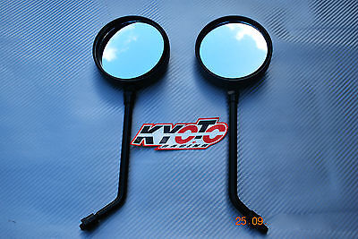 Brand New A Grade E Marked Universal 10Mm Thread Pair Mirrors Long Stem