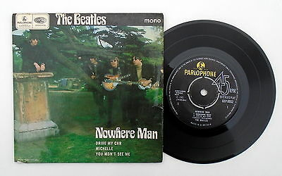 "The Beatles ~ Nowhere Man 7"" EP 45 ~ 1966 (UK) 1st Press ~ 1/1 ~ GEP8952"