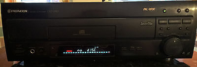 Pioneer Laserdisc Player CLD-2950 - PAL/NTSC Dual Side Direct CD