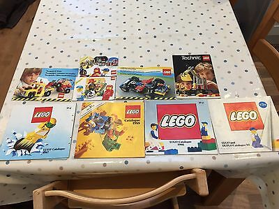 Lego Catalogue Bundle From Mid Eighties 85 86 87 88