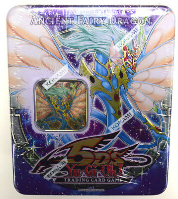 Yu-Gi-Oh! Yugioh 5Ds 2009 Ancient Fairy Dragon Factory Sealed Collectible Tin