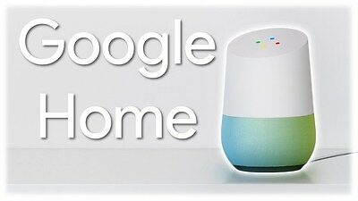 Google Home - White slate, Google Personal Assistant Hands free