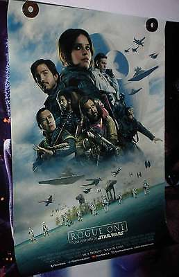 Rogue 1 One A Star Wars Story ORIGINAL 27x40 POSTER 1sheet Double Sided VF-NM
