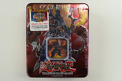Yu-Gi-Oh! Yugioh 2007 Volcanic Doomfire Factory Sealed Collectible Tin