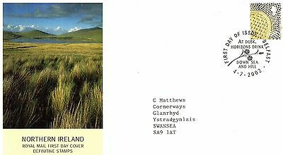 2002 Northern Ireland Definitive Pictorial -Belfast H/s Fdc From Collection B7