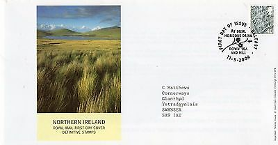 2004 Northern Ireland Definitive Pictorial -Belfast H/s Fdc From Collection B8