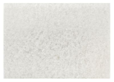 "3M White Super Polish Pad 4100 12"" x 18"" Floor Polish Pad Machine Use (Case o..."