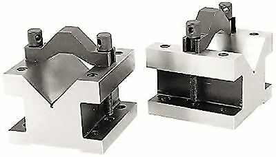 "HHIP 3402-0001 7/16 Capacity Precision V-Block & Clamp Set 1-3/8"" Length x 1-..."