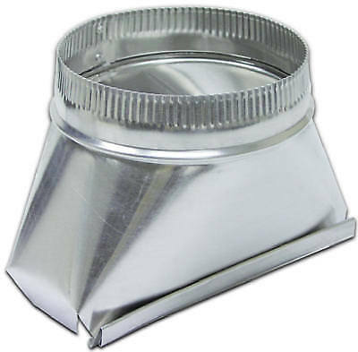 LAMBRO INDUSTRIES Aluminum Duct Transition Fitting, 5-In. Round