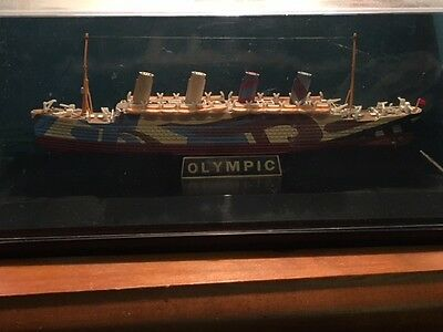 RMS Olympic die cast model Gilbow 1:1750