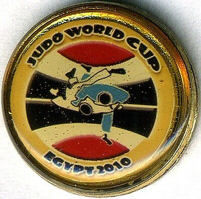 Pin's Judo World Cup Egypt 2010