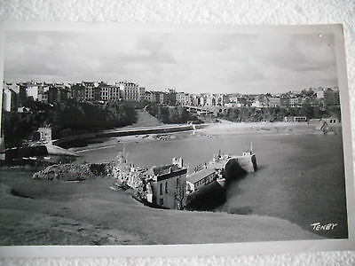 View Of Tenby Town And Harbour - Squibbs Studios - Real Photo - Posted 1974