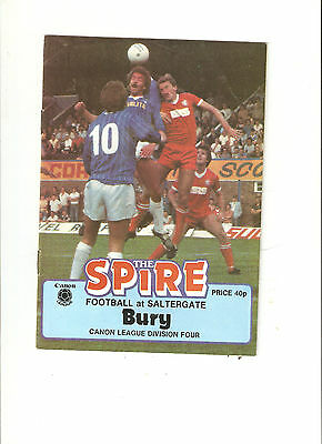 10 Different  Chesterfield  Programmes