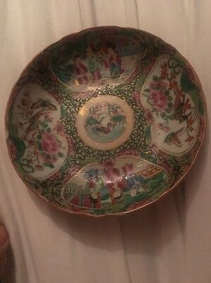 Rare Japanese Decorative Plate / Bowl / Saucer No Markings