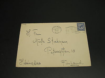 UK 1932 cover to Finland *17748