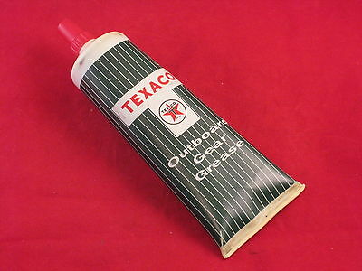 Vintage Texaco Outboard Gear Grease With Contents Plastic Container