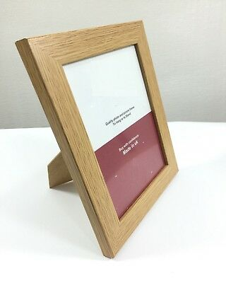 6x4'' Wooden Effect OAK Poster Picture Photo Wall Decor Collage Hanging Frame