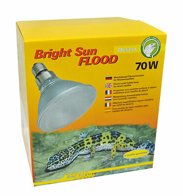 Lucky Reptile Bright Sun FLOOD Desert UV 70 Watt /  UVA UVB Strahler / UV Lampe