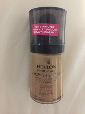 REVLON Photoready Airbrush Effect Foundation 005 Natural beige