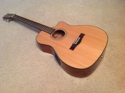 Fender   Cf140 Sce  Electro Acoustic Guitar