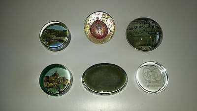 Job lot of paperweights