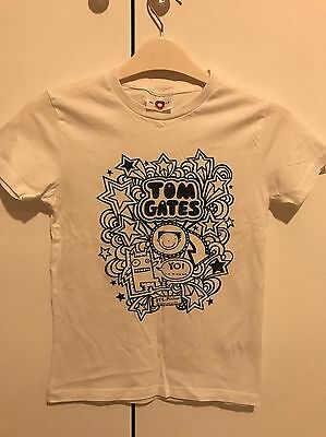 Tom Gates T-Shirt (Age 7-8) - Ideal For Book Day