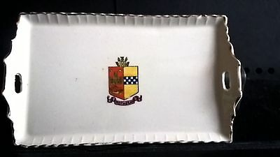 Crested China Tea Tray - Rothesay Crest