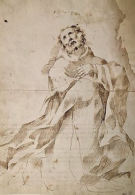 Italian School, late 17th Century   Old master drawing, ink on paper