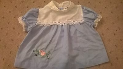 Vintage - Baby girls dress from 70s - Authentic 3-6m? Mothercare
