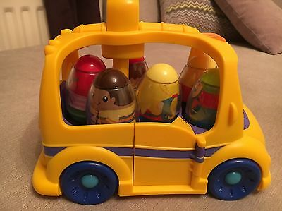 Weeble Bus With 6 Weebles