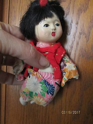 Antique Vintage Composition Doll Chinese Japanese Asian Oriental Girl...geisha