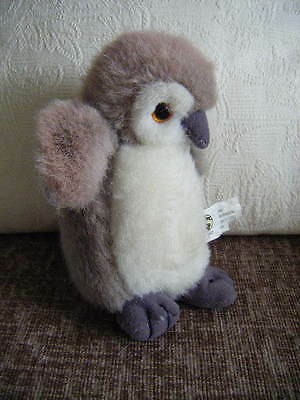 soft toy cute fluffy soft penguin 6 ins