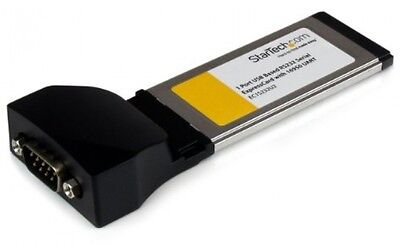 Startech 1-Port ExpressCard To RS232 DB9 Serial Adapter Card
