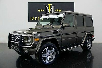 2014 Mercedes-Benz G-Class G550 ($118K MSRP) 2014 Mercedes-Benz G550, ONLY 6700 MILES! CARBON FIBER TRIM INSIDE, RARE COLOR!